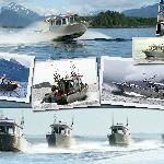 Our fleet of six fishing vessels will get you to and from the salmon and halibut fishing grounds