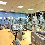 Stay on track in our Cardio Room