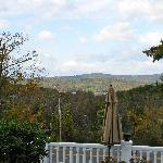 View from the side of our deck
