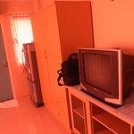 クローゼットとテレビと冷蔵庫