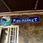 Kilauea Fish Market sign