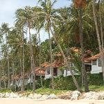 Beach villas at Napasai