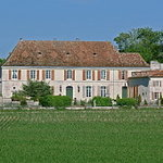 View of the Chateau from across the fields