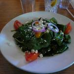 Great spinach salad!