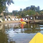 Sundowners private beach / kayak launch