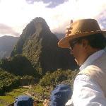 En Machu Picchu con mis hijos