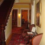 main stairway, hall