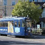 Straßenbahn auf der Esplanade