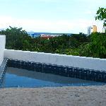 La piscina della Zapote suite
