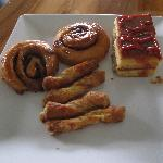 More assorted pastries.
