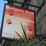 Badger's Hall tea room
