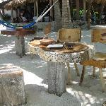 Beachside tables