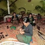 Local ladies working