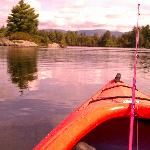 Kayaking on Long Pond at Gorman