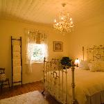The pretty cottage cream bedroom