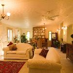 Evelyn's spacious and  beautiful lounge