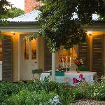 Evelyn Homestead rear garden alfresco area