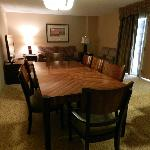 Dining and Living Room Area Presidential Suite