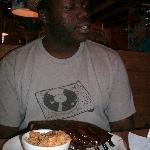 My husband and his ribs