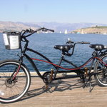 Our electric tandem.
