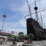 The tower from Melaka Maritime Museum.