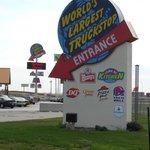 Entrance to Iowa 80