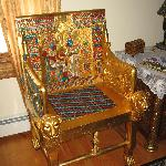 Egyptian Chair in Room