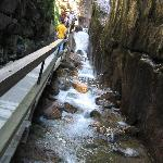 Flume Gorge nearby