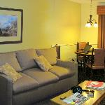 Living room at the Wyndham Durango