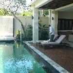 Villa Penyu pool