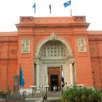 the Egyptian museum filled with wonderful antiquities.