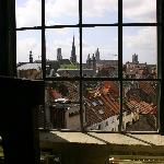 View from the Museum of Industrial Archeology and Textile