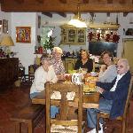 Petit déjeuner chez Michel et Fanny