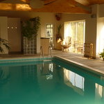 The Indoor heated swimming pool at May Hill View