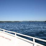Calm cruise in San Juan Islands