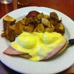 The Oh-So Original Eggs Benedict ($10)