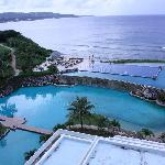 Infinity pool + view