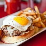 Zesto's Egg burger