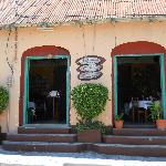 Front view of Cafe Yaxha