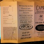 Photo de Capri Pizzeria & Restaurant