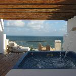 Rooftop view with plunge pool room 9458