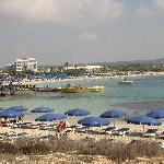 Пляж отеля Астериас Бич