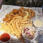 Mama Blue's Southern Charmed Fried Shrimp