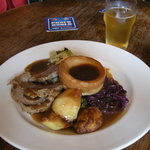 Beef Sunday roast- highly recommended!