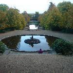 Schlosspark genau vor der Tür