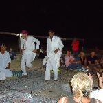A Bedouin dance at star gazing