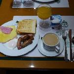4.朝食のビュッフェ