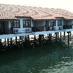 The water chalets