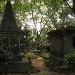 the same - 18 century tombs of mostly young British settlers