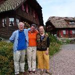 Insieme a Frau Doris Klumpp nel residence